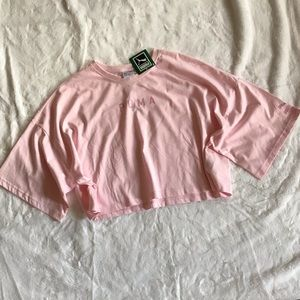 Puma crop pink T-shirt XL. C7